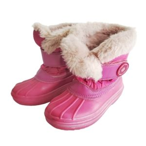 COUGAR Kids Girls Snow Boots Pink Size 10M